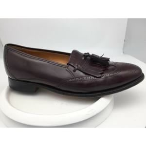 Johnston Murphy Optima Burgundy Leather Wingtips